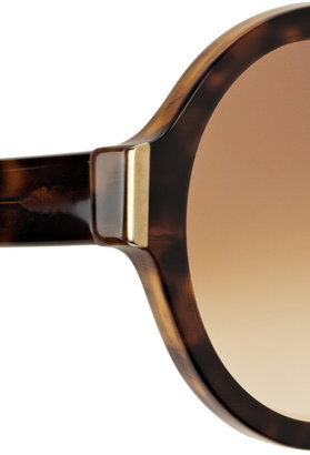 Marni Round-frame tortoiseshell acetate sunglasses