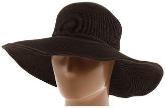 San Diego Hat Company FBM1004 Fine Paper Floppy Sun Hat (Dark Brown) - Hats