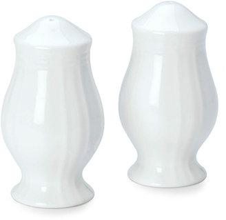 Mikasa Antique White Salt and Pepper Shakers