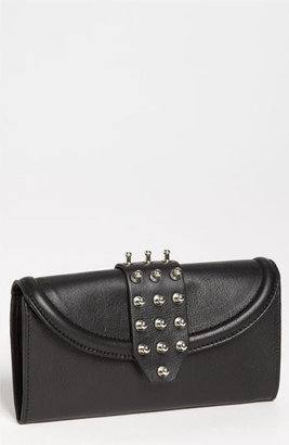 McQ by Alexander McQueen Collar Stud Wallet Black One Size
