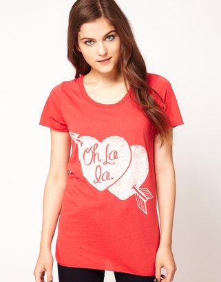 Zoe Karssen Oh La Heart Boyfriend T Shirt
