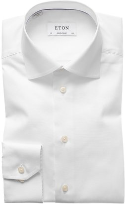 Eton White Signature Twill Shirt - Contemporary Fit