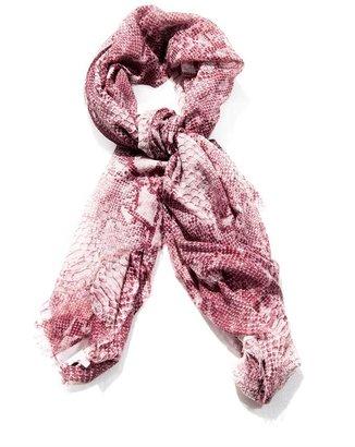 Stella McCartney Snake-print scarf