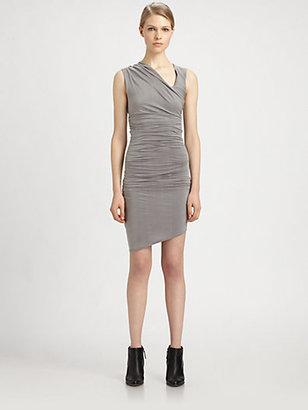 Helmut Lang HELMUT Tuck Dress