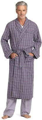 Brooks Brothers Exploded Check Robe