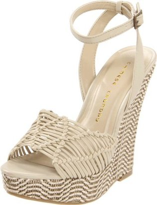 Chinese Laundry Women's Simple Sweet Wedge Sandal