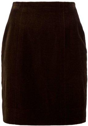 Chanel straight cut mini skirt