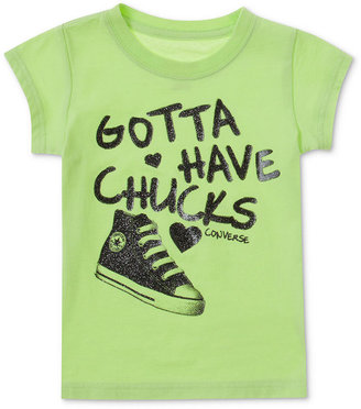Converse T-Shirt, Little Girls or Toddler Girls Logo Graphic Tee