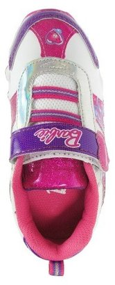 Barbie Toddler Girl's Light Up Sneakers - White