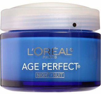 L'Oreal Paris Age Perfect Night Cream for Mature Skin $17.99 thestylecure.com