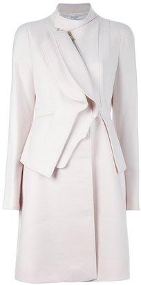 Givenchy asymmetric coat