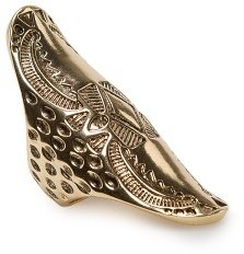 MANGO TOUCH - Tribal embossed ring