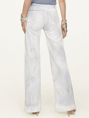 Ralph Lauren Black Label Denim Catalytic Wide-Leg Sailor Jean