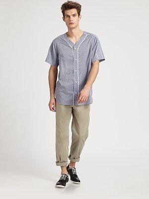 Richard Chai Tuxedo-Pegged Trousers