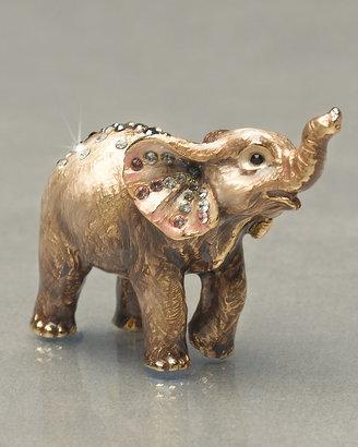 """Jay Strongwater Ruby"""" Elephant Mini Figurine"""