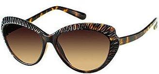 Cat Eye Olsenboye® Scalloped Cat-Eye Sunglasses