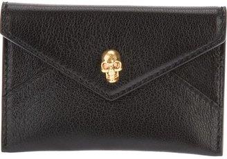 Alexander McQueen skull detail card holder