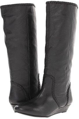 Steve Madden Irenee (Black Leather) - Footwear