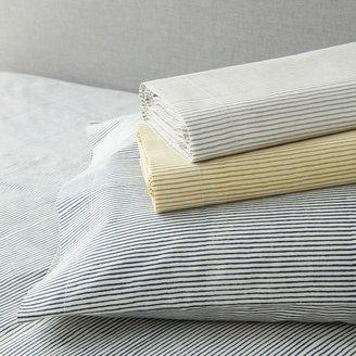 west elm Organic Wavy Stripe Sheet Set Collection