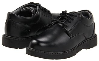 School Issue Scholar (Toddler/Little Kid/Big Kid) (Black Leather) Boys Shoes