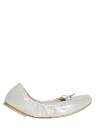 Bloch Glittery Nappa Leather Ballerinas