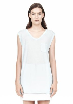 Alexander Wang Muscle Tee With Pocket