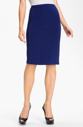 KAMALIKULTURE Pull-On Knit Pencil Skirt