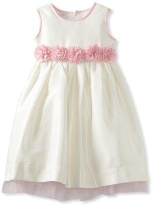 Jayne Copeland Girls 2-6X Faux Silk Dress