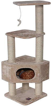 "JCPenney Majestic Pet 52"" Casita Faux Fur Cat Tree"