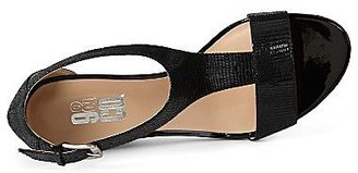 JCPenney 9 & Co.® O'Malley T-Strap Wedge Sandals