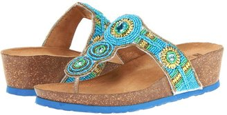 White Mountain Bam (Blue Multi) - Footwear