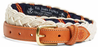 Brooks Brothers Kiel James Patrick BB#1 Braided Belt