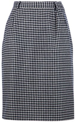 Valentino houndstooth skirt