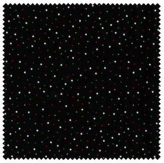 Amy Sedaris Dots 3 Yard Cut Black