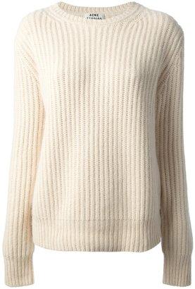 Acne 'Rakel' ribbed jumper