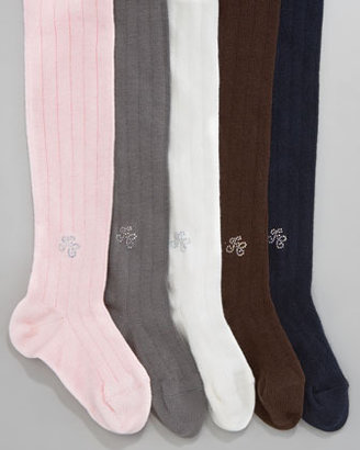 Tartine et Chocolat Collant Ribbed Knit Tights, 3-12 Months