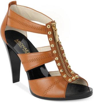 MICHAEL Michael Kors Linden Berkley T-Strap Sandals