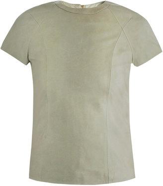 Alexander Wang Leather T-shirt