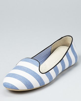 Charles Philip Loafers - St. Tropez Striped Smoking Shoe