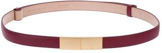 Marc by Marc Jacobs plain buckled belt