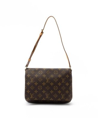 Louis Vuitton Pre-owned: brown monogram canvas 'Musette Tango Short' bag