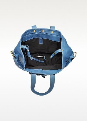 Jerome Dreyfuss Billy M Blue Malachite Shoulder bag