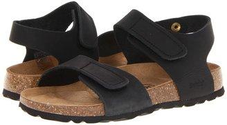 Birkenstock Betula Kids Licensed by Jona NL Soft (Black) - Footwear