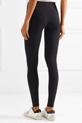 Splendid Stretch-jersey Leggings - Black