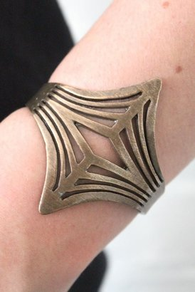 Low Luv x Erin Wasson by Erin Wasson Negative Space Cuff in Bronze