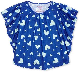 Epic Threads Kids Shirt, Little Girls Printed Dolman Tee