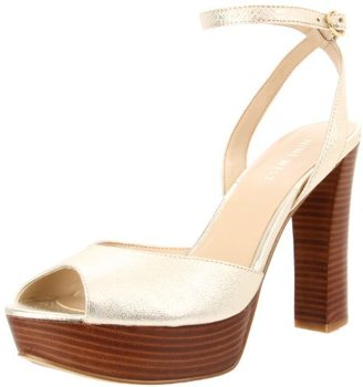 Nine West Women's Calculate Ankle-Strap Sandal
