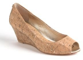 Donald J Pliner Milli Metallic Cork Pumps
