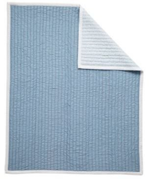 Mini Cabin Quilt Chambray