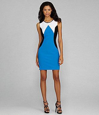 Calvin Klein Woman Colorblock Sheath Dress